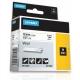 Dymo ID1 Vinil color 12mm x 5,5 m, alb